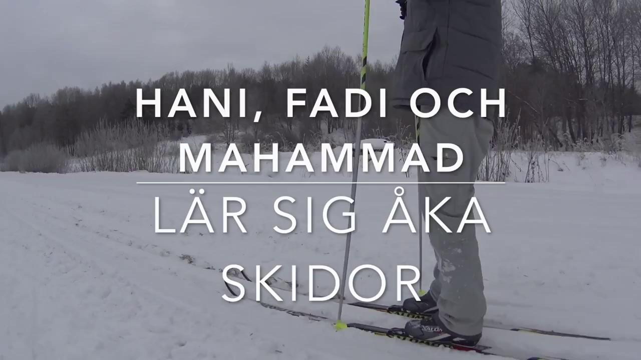 lära sig åka skidor