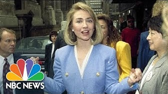 Hillary Clinton As First Lady | Flashback | NBC News