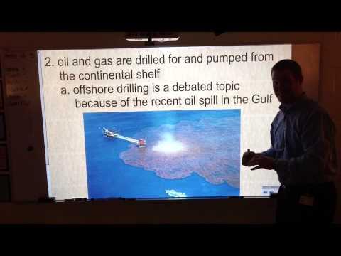 Ocean Resources Notes