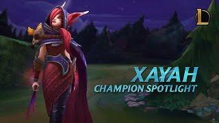 Xayah Champion Spotlight | Gameplay   League Of Legends