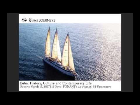 Cuba: History, Culture & Contemporary Life Webinar