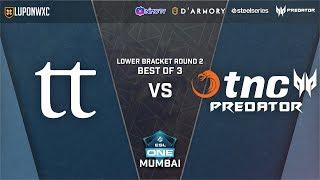 TNC Predator vs TeamTeam Game 2 (BO3) | ESL One Mumbai 2019 Lower Bracket Playoffs