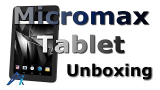Micromax Canvas Tab P290 Tablet (7 inch Wi-Fi Only) unboxing