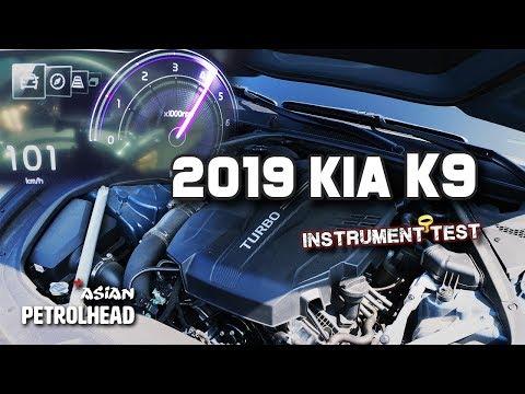 Instrument test of  Kia K ( Kia K) (- and braking)