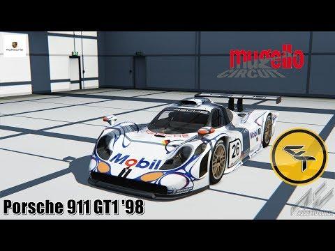 FunDrive Porsche 911 GT1 '98 - Assetto Corsa gameplay