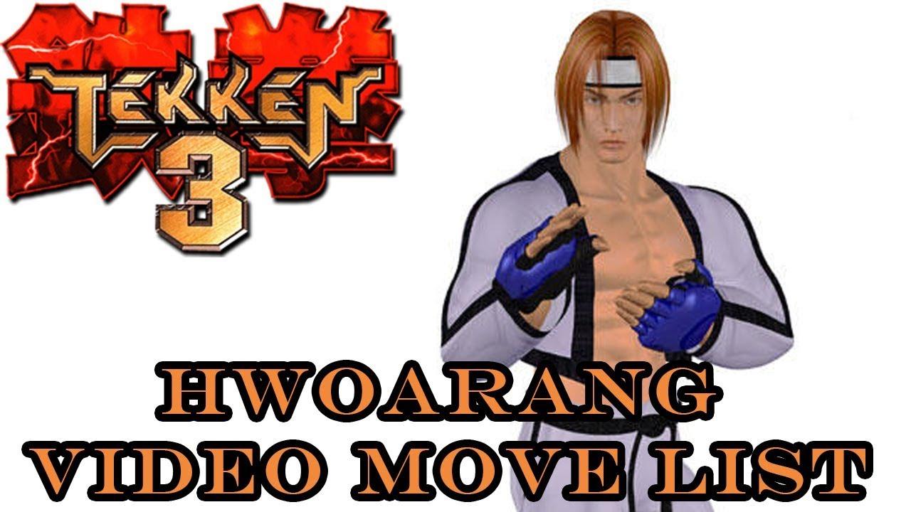 hwoarang tekken 3 players