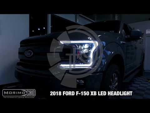 2018 FORD F150 MORIMOTO XB LED HEADLIGHTS - PLUG AND PLAY!