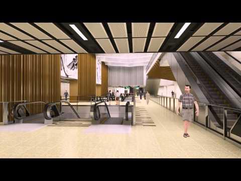 t19 Thomson Line Animation : Singapore architecture Flythrough walkthrough Animation