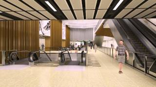 t19 Thomson Line Animation : Singapore architecture Flythrough walkthrough Animation