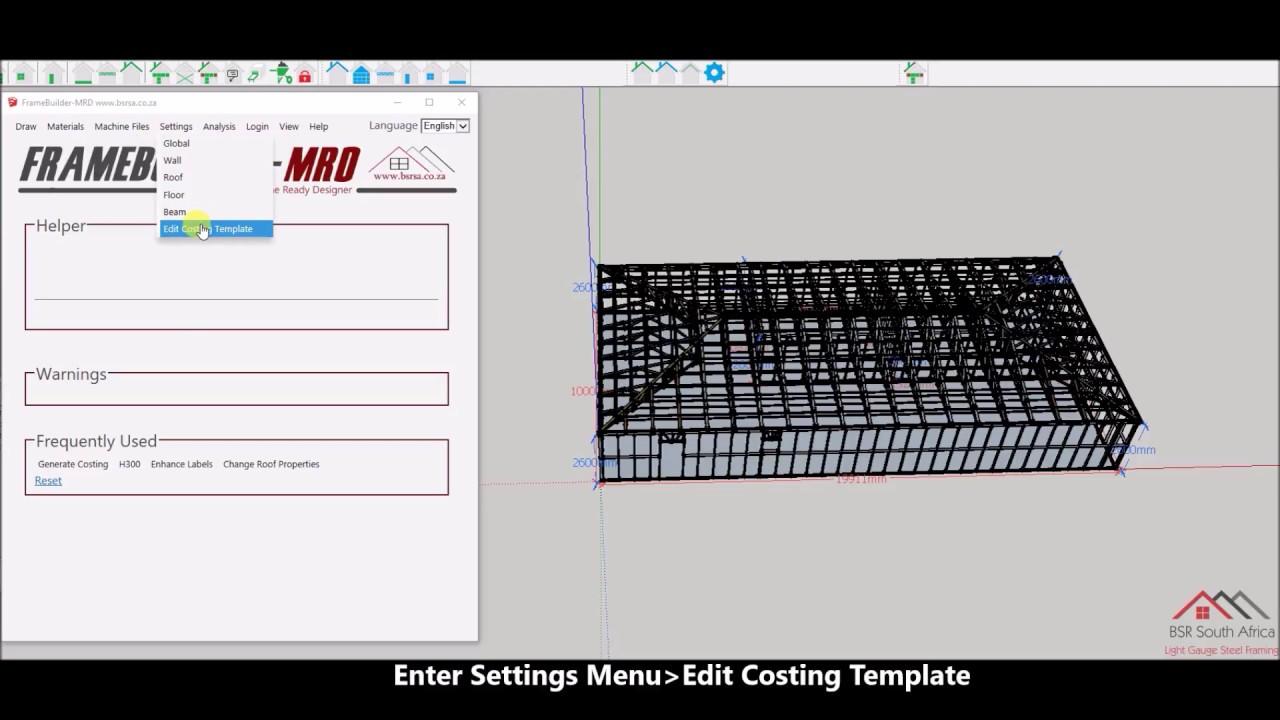FrameBuilder-MRD Material Cost Generation - YouTube