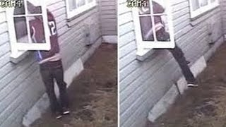 THEY TRIED BREAKING INTO MY HOUSE!!