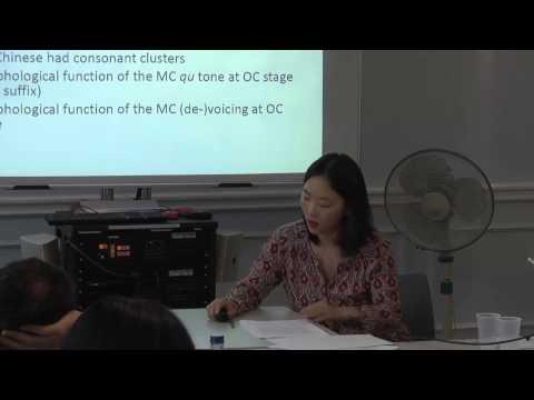 Haeree Park (Hamburg): Dialect borrowings in Old Chinese, SOAS University of London