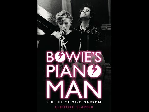 """Bowie's Piano Man"" Dublin Launch"
