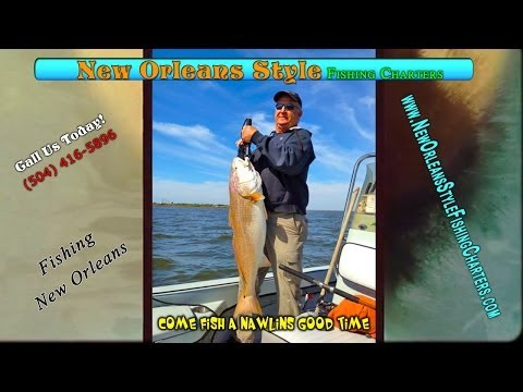 Best Charter Fishing Guide In New Orleans Louisiana For Red Fish - Fishing Reports