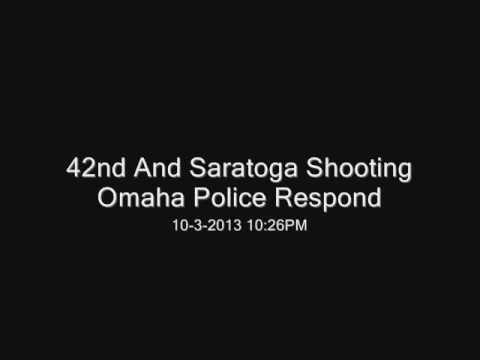 Omaha Police Respond to Shooting at 42nd and Saratoga