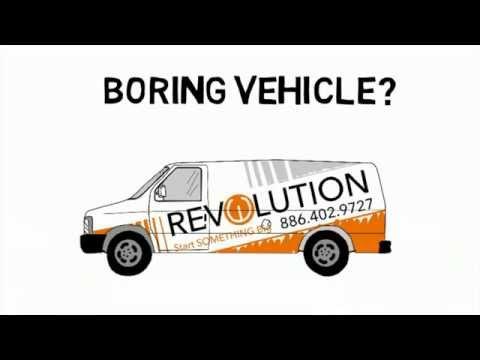 Omaha Vehicle wraps - Revolution Wraps Vehicle Wrap process