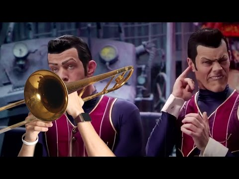"""""""We Are Number One"""" but it's on trombones"""