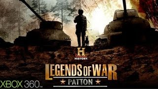 History Legends of War: Patton Gameplay (XBOX 360 HD)