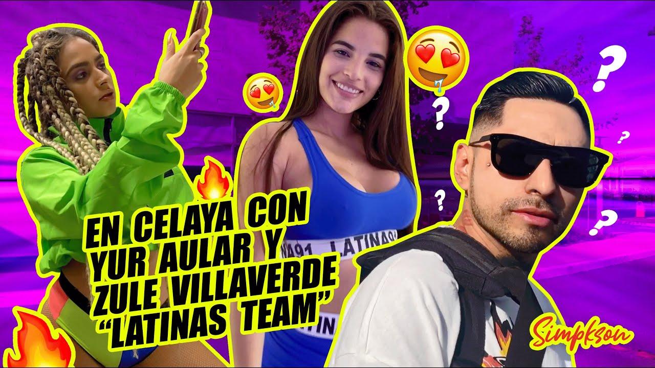 """Fuí a Celaya con Yur Aular y Zule Villaverde """"Latinas Team"""" X Simpkson."""
