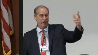 palestra de ciro gomes no brazil conference