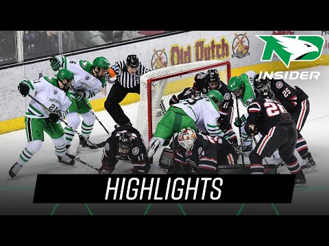 North Dakota vs. St. Cloud State | Highlights | UND Hockey | 1/25/19