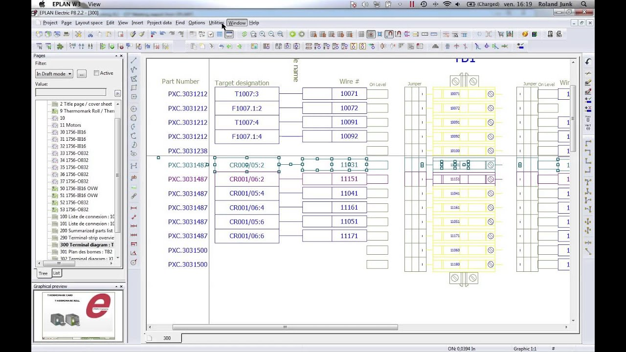 EPLAN ELECTRIC P8 export all labels in Clip Project  YouTube