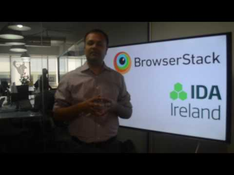 Deepak Dhanak, CFO of BrowserStack on #WhyIreland