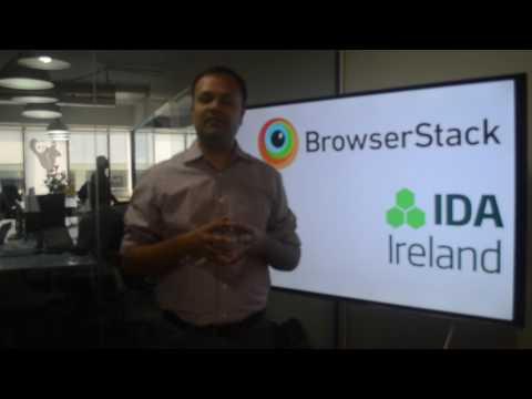 Deepak Dhanak, CFO of BrowserStack on #WhyIreland