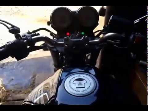 Первый запуск мотоцикла после зимы HONDA CB600