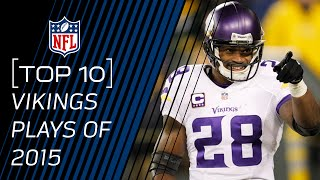 Top 10 Vikings Plays of 2015 | #TopTenTuesdays | NFL