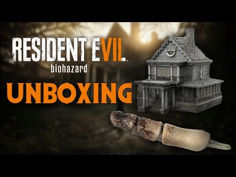 Resident Evil 7 biohazard Collector's Edition Unboxing