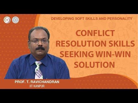 Conflict Resolution Skills: Seeking Win-Win Solution
