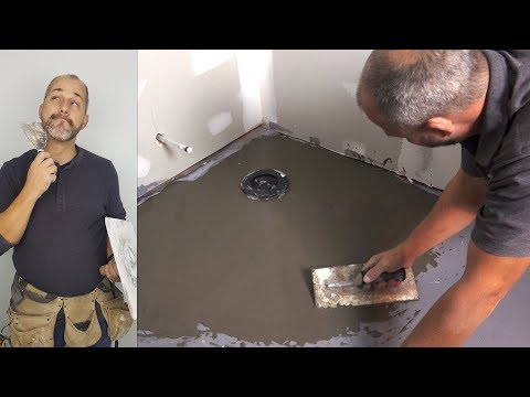 How To Install Floor Levelling Compound On Concrete