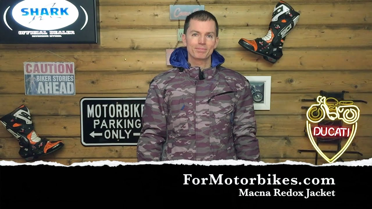 a5bff5fd98597 Macna Redox Jacket Review - YouTube