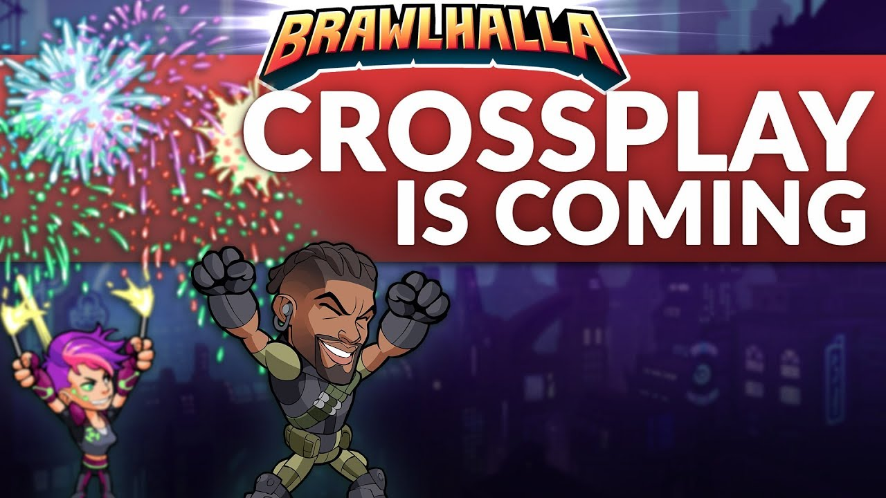 Crossplay Is Coming! - Brawlhalla Dev Stream Montage