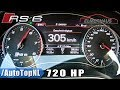 YouTube Turbo Audi RS6 720HP Elmerhaus 0-305km/h ACCELERATION on AUTOBAHN by AutoTopNL