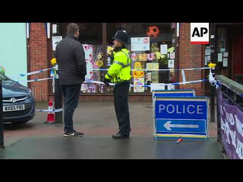 UK police remain at site of nerve agent attack
