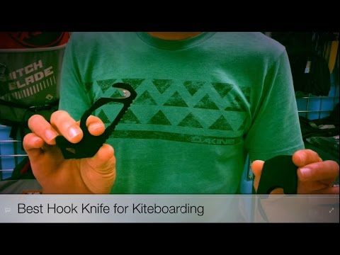 When and how to use the kite hook knife