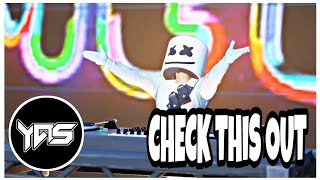 Marshmello - CHECK THIS OUT [Bass Boosted] new song (Fortnite Music Video)