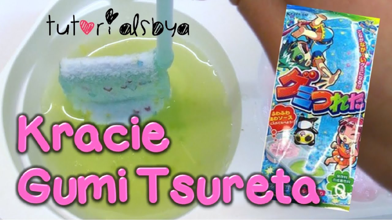 Kracie gumi tsureta diy japanese candy kit tutorial chef a youtube solutioingenieria Image collections