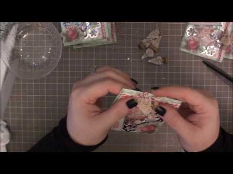 LNC - Paper bag shaker's with Prima's Sweet Peppermint 4 - Mary Did you know?