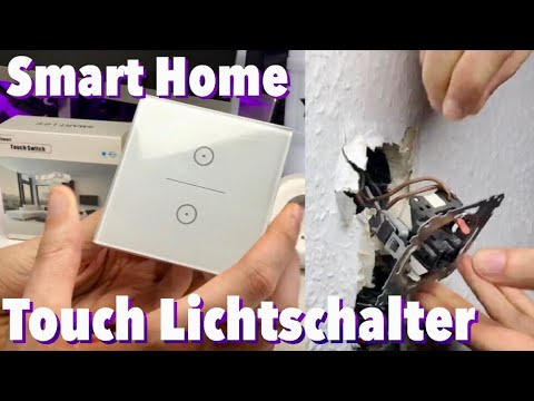 smart home wifi lichtschalter amazon alexa kompatibel smart life vorstellung youtube. Black Bedroom Furniture Sets. Home Design Ideas