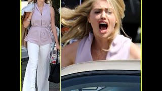 Kate Upton Lets Out a Fit of Anger During