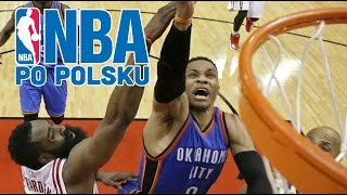 Oklahoma nie chce sweepu! Westbrook triple double! | Rockets vs Thunder GAME 3 | NBA po POLSKU