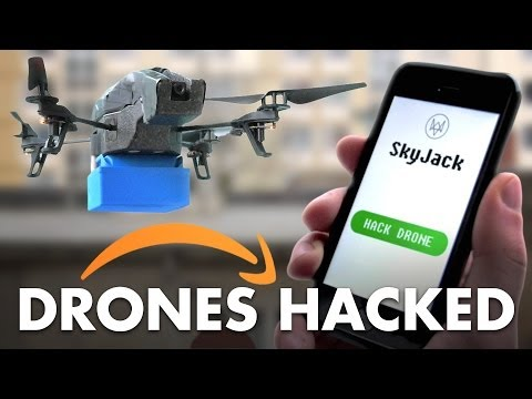 Amazon Drones Hacked before Christmas