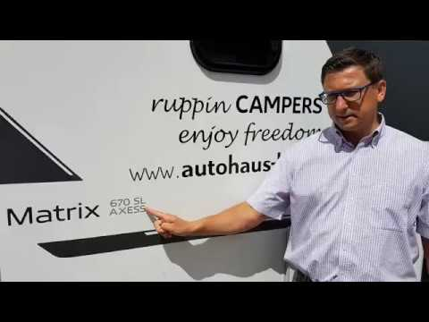 ruppinCAMPERS: Präsentation Adria Matrix Axess 670 SL (2018)