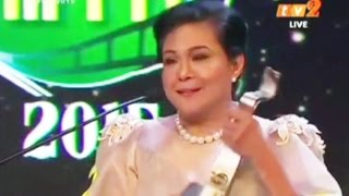 AIFFA 2015 - Lifetime Achievement Award to Ms. Nora Aunor, April 11, 2015