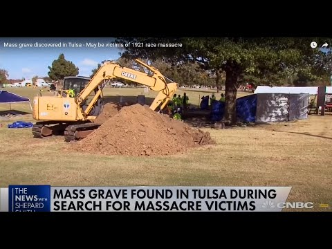 Mass Grave Discovered In Tulsa - Victims of 1921 Race Massacre