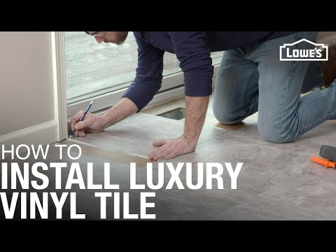 vinyl tile installation