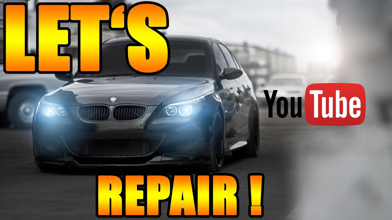 let 39 s repair bmw luftfilter wechseln bmw e60 e61 youtube. Black Bedroom Furniture Sets. Home Design Ideas